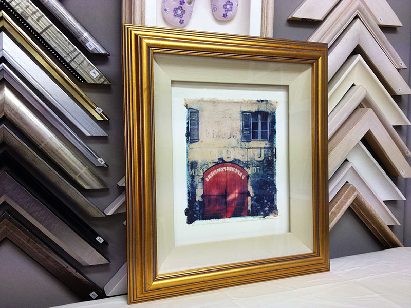 Float Mounted Water-Colour - Picture Framing Dublin - Custom ...